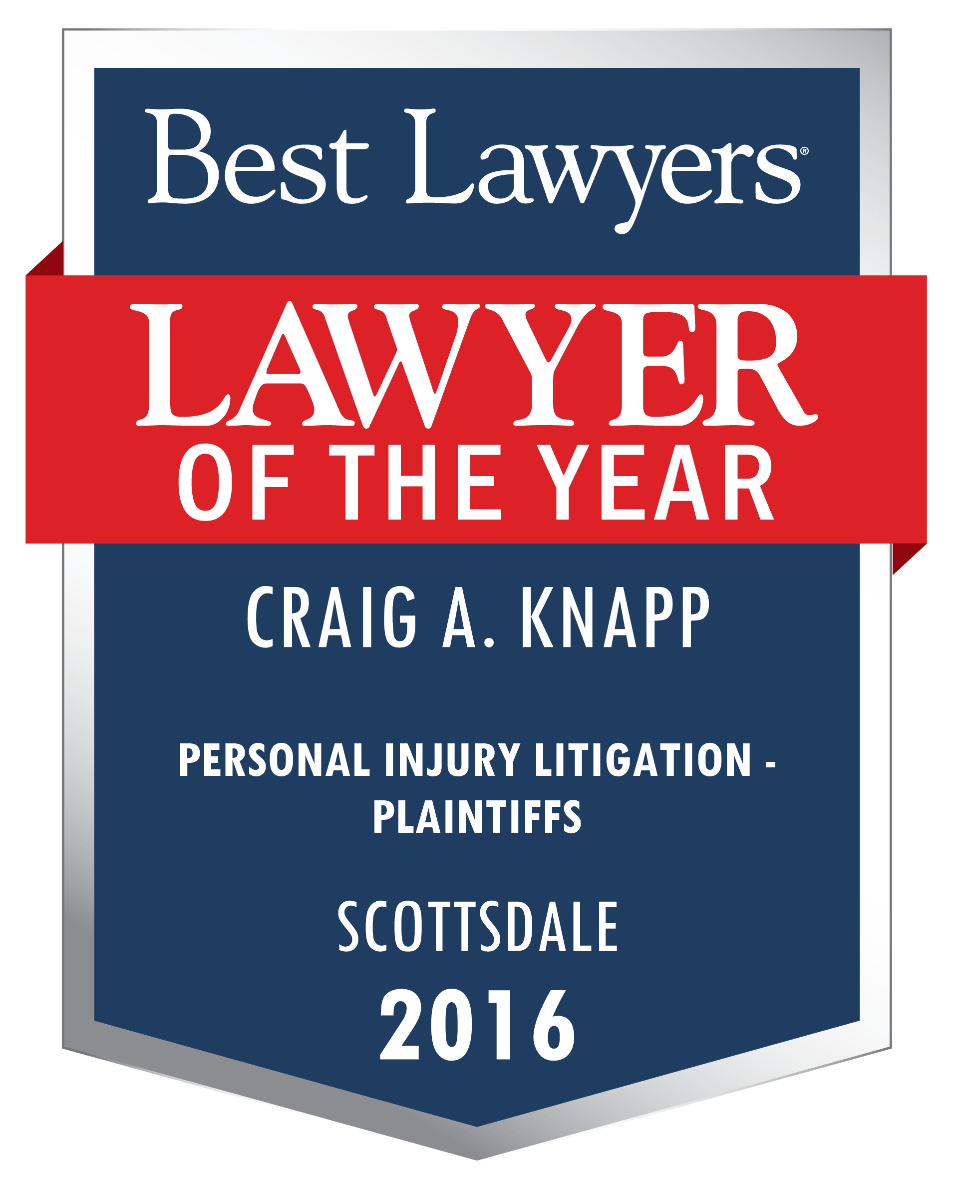 Best Lawyers - Lawyer of the Year 2016