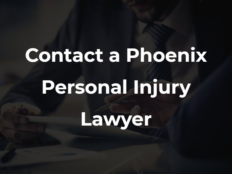 Phoenix personal injury lawyer